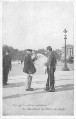 Les petits métiers parisiens - Le Marchand de Plans de Paris - Paris 1er