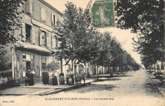 Saint Rambert D'Albon La Grande Rue - Albon