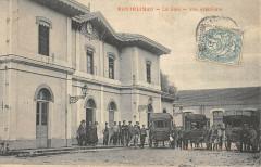 Montelimar La Gare Vue Exterieure - Montélimar