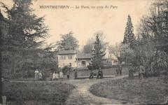 Montmeyran La Gare Un Coin Du Parc - Montmeyran
