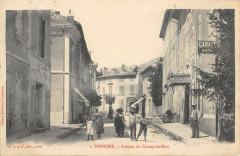 Donzere Avenue Du Champ De Mars - Donzère