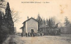Montmeyran La Gare (Train En Gare - Montmeyran
