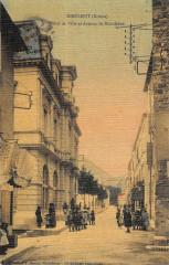 Dieulefit Hotel De Ville Et Avenue De Bourdeaux - Dieulefit