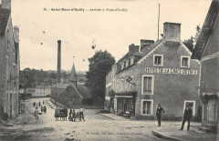 Saint Marc D'Ouilly Arrivee A Pont D'Ouilly - Pont-d'Ouilly