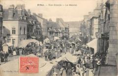 Orbec Rue Grande Le Marche - Orbec