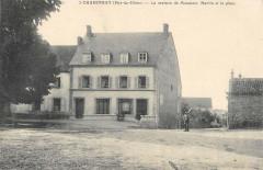 Charensat La Maison De Monsieur Martin Et La Place - Charensat