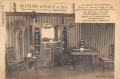 Chateldon Magasin Au Noyer D'Auvergne Duaygues Lotiron Rue Claussat - Châteldon