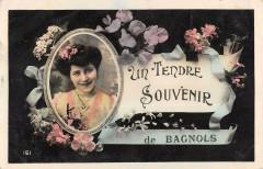 Souvenir De Bagnols - Bagnols