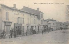 Saint Ciers Sur Gironde Place De L'Eglise - Saint-Ciers-sur-Gironde