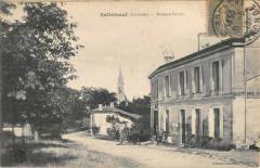 Salleboeuf Avenue Carnot (cliché pas courant - Salleboeuf