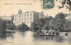 Sorde L'Abbaye Et Le Passage Du Bac - Sorde-l'Abbaye