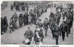 Ostensions Du Dorat 1932 Paroisse De La Bazeuge (Animation - La Bazeuge