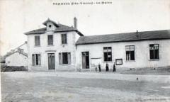 Panazol La Mairie  (cpa animée) - Panazol