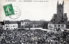 Quimperle Coin Du Champ De Foire (Grosse Animation - Quimperlé