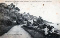Marmisson Commune De Gauriac Les Rochers Village Et Rte De Reuille (animé - Gauriac
