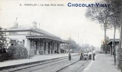 Viroflay La Gare (Rive Droite) Publicitaire Chocolat Vinay - Viroflay