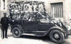 Talairan Carte Photo Du Carnaval De Talairan  Voiture Fleurie Avec Animat - Talairan