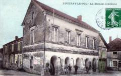Lucenay Le Duc La Maison Commune (Cpa Animee - Lucenay-le-Duc