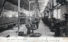 Aire Sur L'Adour Ecole De Commerce Et D'Industrie Un Coin Des Ateliers (T - Aire-sur-l'Adour