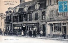 Loudeac Place Au Fil Bazar Moderne (Cpa De Commerce Magasin - Loudéac