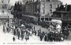Berck Plage 22 Mars 1914 Concours De Travestis Place De L'Entonnoir  (Gro 62 Berck