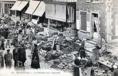 Bonneval - le marché aux légumes  (Animee - Bonneval