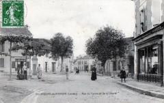 Villeneuve De Marsan Rue Du Centre Et De La Liberte  (Belle Animation - Villeneuve-de-Marsan