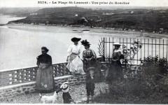 La Plage Saint Laurent Vue Prise Du Roselier (Animee - Saint-Laurent