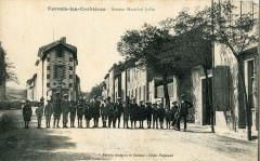 Ferrals Les Corbieres Avenue Marechal Joffre (cpa animée - Corbières