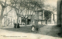 Villeneuve Minervois La Poste (animée - Villeneuve-Minervois