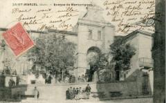 Saint Marcel Avenue De Marcorignan (cpa animée - Marcorignan