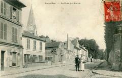 Sarcelles La Rue De Paris (cpa animée) - Sarcelles