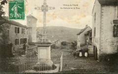 Viala Du Tarn Le Calvaire Et La Tour - Viala-du-Tarn