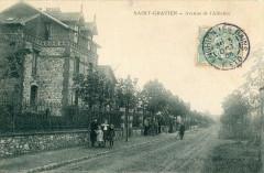 Saint Gratien Avenue De L'Alliance (cpa animée)  doit etre rare - Saint-Gratien