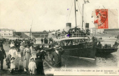 Port De Bouc Le Debarcadere Un Jour De Lancement (animation - Port-de-Bouc