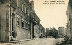 Marcorignan Mairie Et Avenue De Narbonne ( Pas Courante - Marcorignan