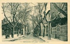 Rieux Minervois Avenue De La Gare (pas courante - Rieux-Minervois