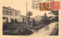 Monprimblanc Quartier De Ballot (cpa animée) - Monprimblanc