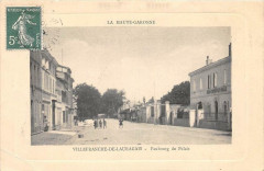 Villefranche De Lauragais Faubourg Du Palais - Villefranche-de-Lauragais