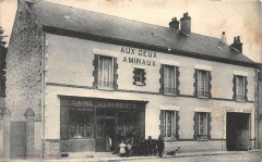 Pithiviers Magasin Commerce Aux Deux Amiraux (rare cpa - Pithiviers