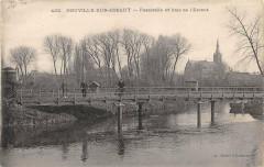 Neuville Sur Escaut Passerelle Et Bras De L'Escaut - Neuville-sur-Escaut