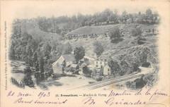 Fresselines Moulin De Vervy (dos non divisé) (cpa pas courante - Fresselines