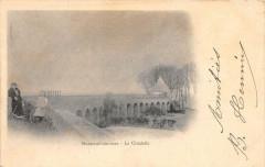 Montreuil Sur Mer La Citadelle (dos non divisé) - Montreuil