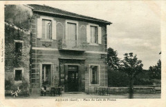 Aubais Place Du Cafe De France (Pas Courante - Aubais