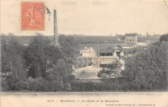 Montiers La Gare Et La Sucrerie - Montiers