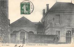 Le Vaudelnay La Mairie Et Ecole - Vaudelnay