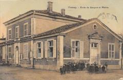 Troussey Ecole De Garcons Et Mairie (cpa rare!! - Troussey
