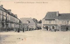 Lanouaille Place Du Marche - Lanouaille