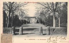 Carbonne La Promenade (dos non divisé - Carbonne