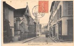 Arcueil Cachan Rue Emile Raspail (cliché pas courant 94 Arcueil